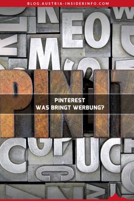 Bringt Werbung in Pinterest etwas in Bezug auf die Zugriffe auf ein Blog? Wenn man nur die kurzfristigen Auswirkungen betrachtet, dann ja!