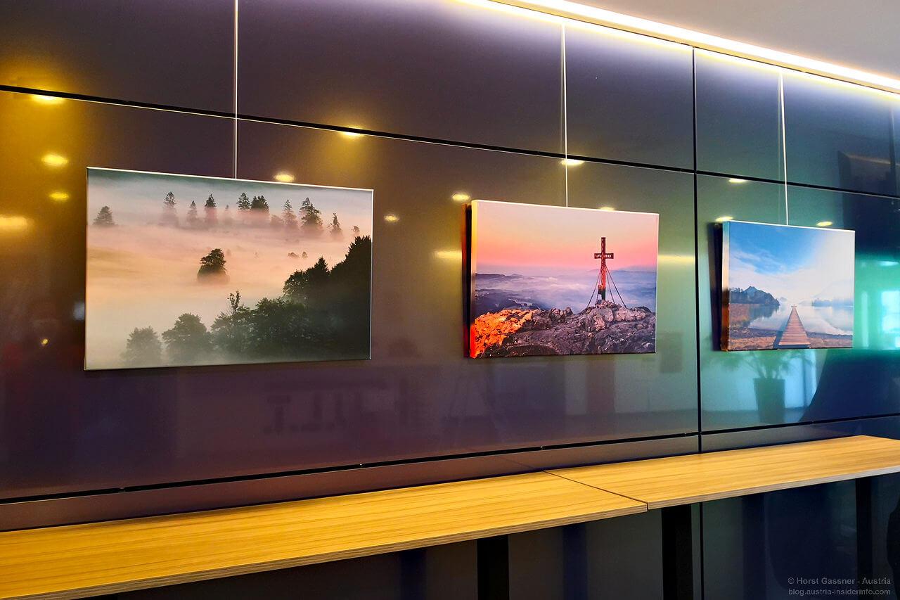 Ausstellung Bilder auf Leinwand im K.U.L.T. in Hof