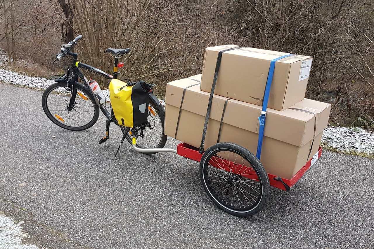 Tiny House selber bauen - mit dem Fahrrad