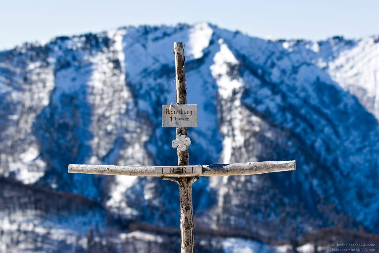 Wanderung Rannberg - Gipfelkreuz