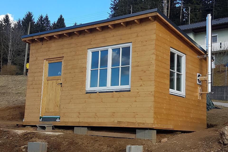 Das fertig Tiny House von außen