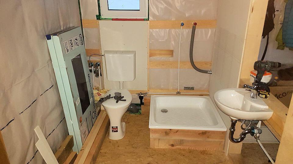 Das Bad im Tiny House