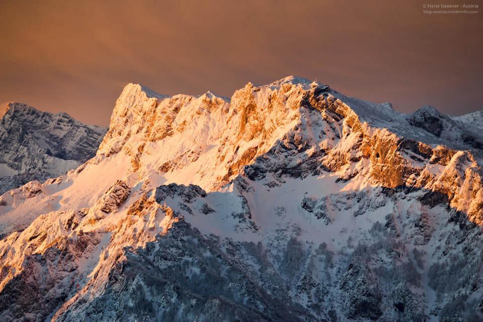 Sonnenaufgang Untersberg