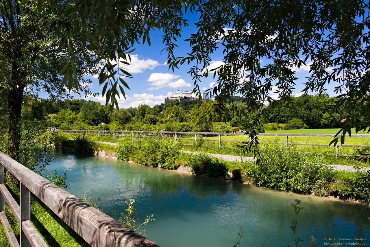 Auf dem Weg zur klimaneutralen Stadt: Almkanal Salzburg