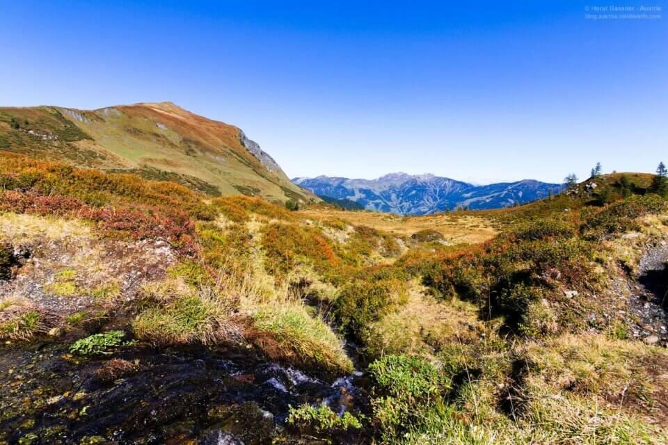 Die Seebachscharte - auf dem Weg von Bad Hofgastein  nach Rauris